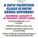 Jeff Sturm, Seacoast Artists Guild, Market Common, Myrtle Beach