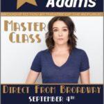 Cameron Adams master dance class