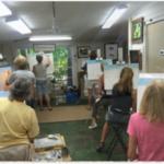island art gallery class